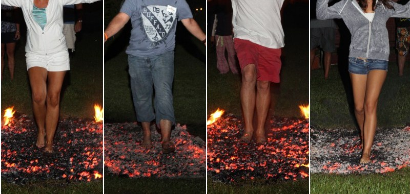 Firewalking, hod po žeravici, hoja po žerjavici, Hodanje po žeravici, Hod po žaru, Neven Carin